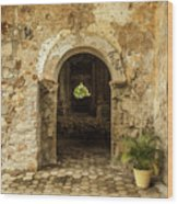 Church Ruins At El Rosario, Sinaloa Wood Print