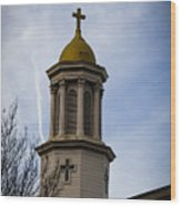 Church Steeple Nashville Wood Print