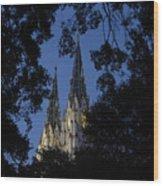 Church Steeples Wood Print