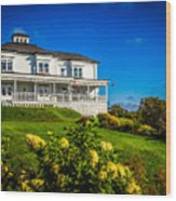 Churchill Mansion Inn Wood Print