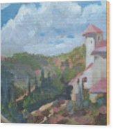 Cielo Villa Wood Print
