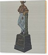 Cigar Store Figure Wood Print