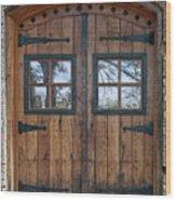 Cigar Warehouse Doors Wood Print