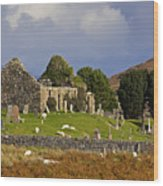 Cill Chroisd Isle Of Skye Wood Print