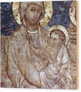 Cimabue: Madonna Wood Print by Granger