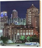Cinci From The Opposite Side Wood Print