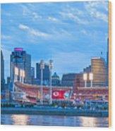 Cincinnati All Star Game  Wood Print