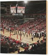 Cincinnati Bearcats Fifth Third Arena Wood Print
