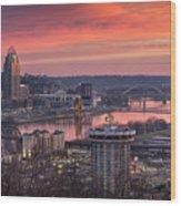 Cincinnati Devou Park Wood Print
