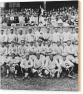 Cincinnati Reds, Baseball Team, 1919 Wood Print by Everett