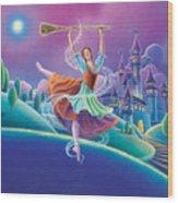 Cinderella Wood Print by Anne Wertheim