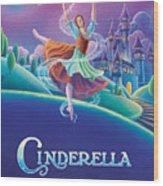 Cinderella Poster Wood Print