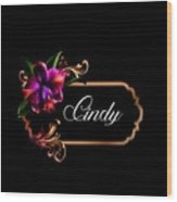 Cindy Wood Print