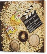 Cinema Of Entertainment Wood Print