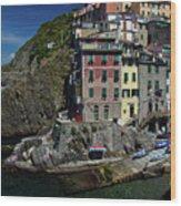 Cinque Terre Northern Italy Wood Print