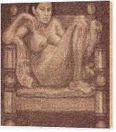 Cinthia Wood Print