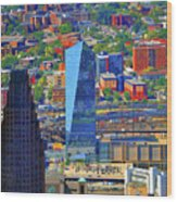 Cira Centre 2929 Arch Street Philadelphia Pennsylvania 19104 Wood Print by Duncan Pearson