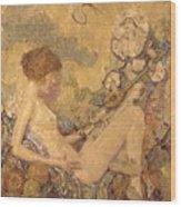 Circe And Anatol 1926 Wood Print