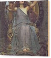 Circe Offering The Cup To Ulysses Wood Print