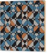 Circle Grid Wood Print