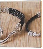 Circle Hook Bracelet Wood Print
