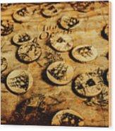 Circle Sails Wood Print