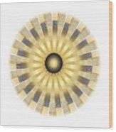 Circle Study No. 122 Wood Print