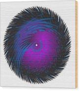 Circle Study No. 125 Wood Print
