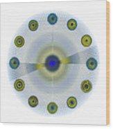 Circle Study No. 154 Wood Print