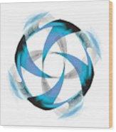 Circle Study No. 182 Wood Print