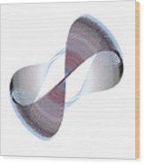 Circle Study No. 199 Wood Print