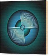 Circle Study No. 213 Wood Print