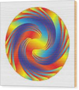 Circle Study No. 231 Wood Print