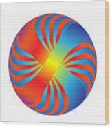 Circle Study No. 236 Wood Print