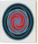 Circle Study No. 320 Wood Print