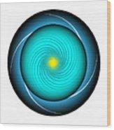 Circle Study No. 339 Wood Print