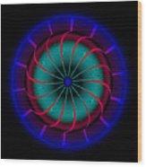 Circle Study No. 468 Wood Print