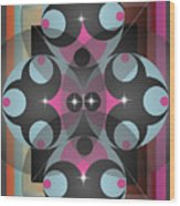 Circles Wood Print