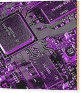 Circuit Wood Print