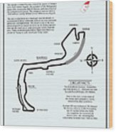Circuit Of Monaco Wood Print