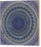 Circular Abstract 9 Wood Print