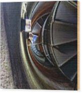 Circular Staircase Wood Print