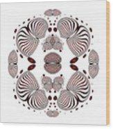 Circularity No 1638 Wood Print