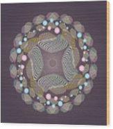 Circularity No 1645 Wood Print