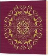 Circularity No 1655 Wood Print