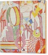 Circus Wood Print