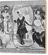 Circus Poster, 1895 Wood Print