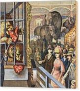 Circus Poster, C1891 Wood Print