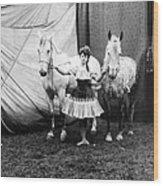 Circus: Rider, C1904 Wood Print