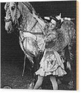 Circus: Rider, C1908 Wood Print